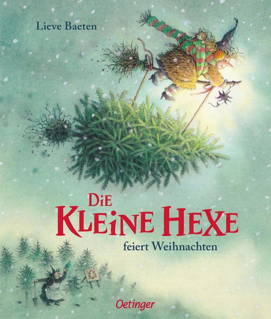 Die kleine Hexe feiert Weihnachten als Buch (gebunden)