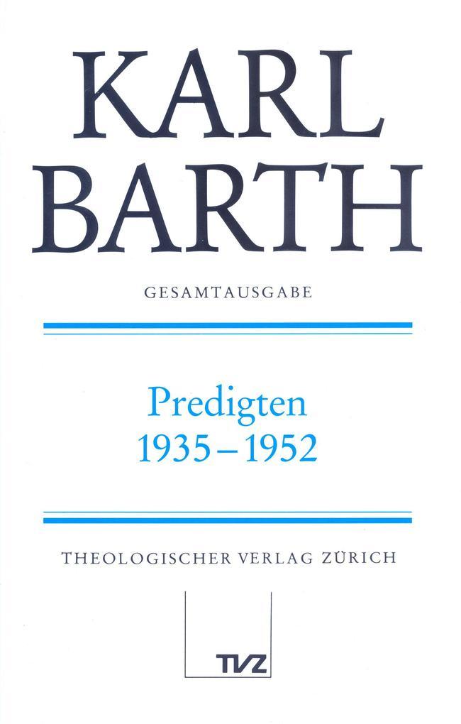 Predigten 1935-1952 als Buch (gebunden)