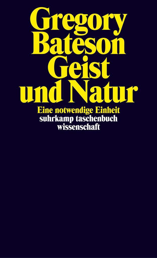 Geist und Natur als Taschenbuch