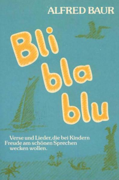 Bli - bla - blu als Buch