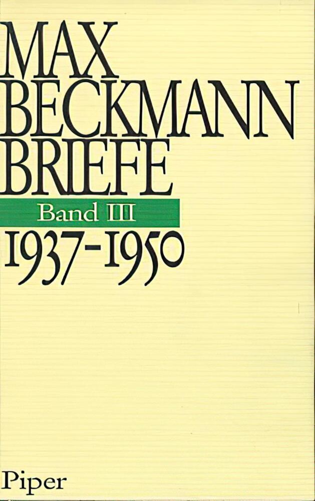 Briefe. 1937 - 1950 als Buch (gebunden)
