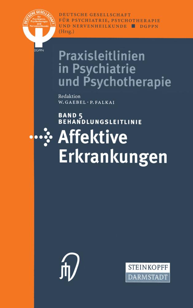 Behandlungsleitlinie Affektive Erkrankungen als Buch (kartoniert)