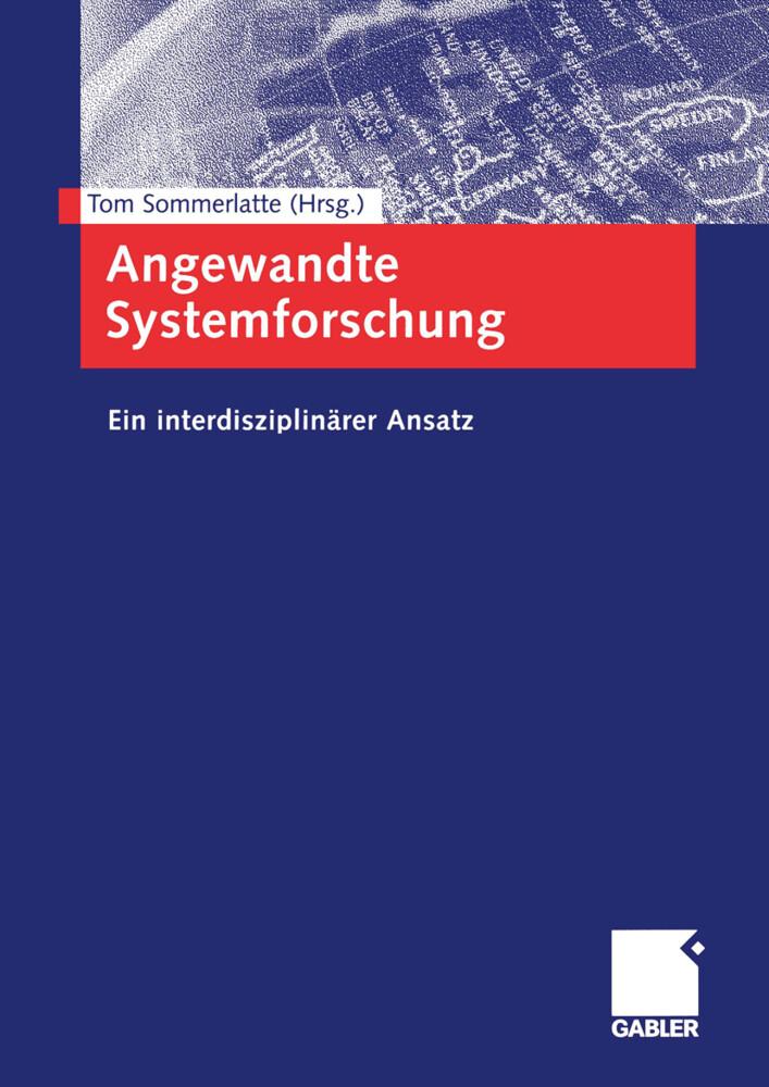 Angewandte Systemforschung als Buch (gebunden)