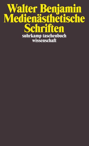 Medienästhetische Schriften als Taschenbuch