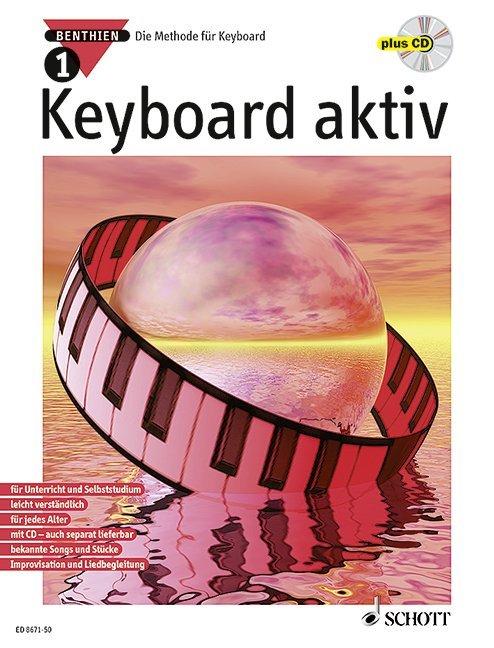 Keyboard aktiv 1. Mit CD als Buch (kartoniert)