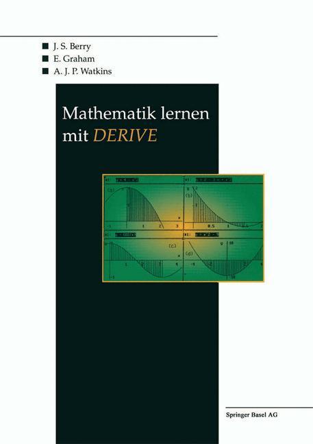 Mathematik lernen mit DERIVE als Buch (kartoniert)