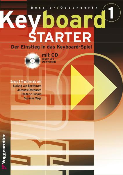 Keyboard-Starter I. Inkl. CD als Buch (kartoniert)