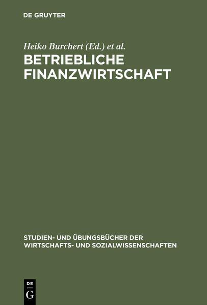 Betriebliche Finanzwirtschaft als Buch (gebunden)