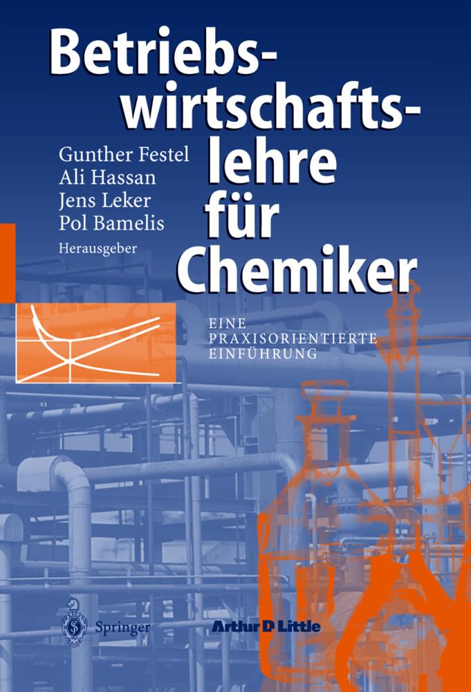 Betriebswirtschaftslehre für Chemiker als Buch (kartoniert)