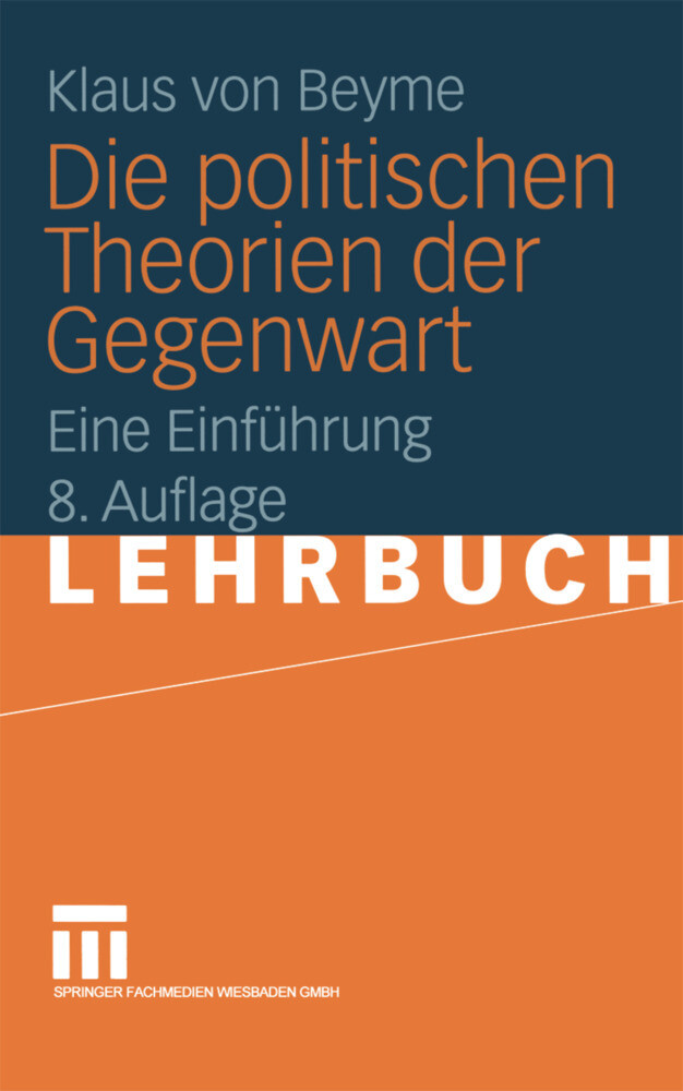 Die politischen Theorien der Gegenwart als Buch (kartoniert)