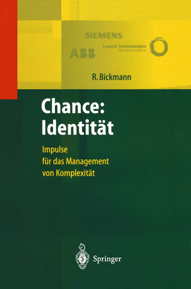 Chance: Identität als Buch (gebunden)