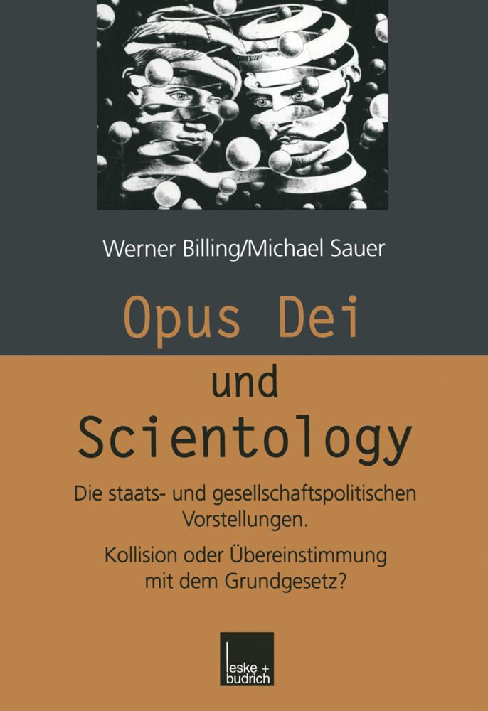 Opus Dei und Scientology als Buch (kartoniert)