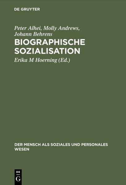 Biographische Sozialisation als Buch (kartoniert)