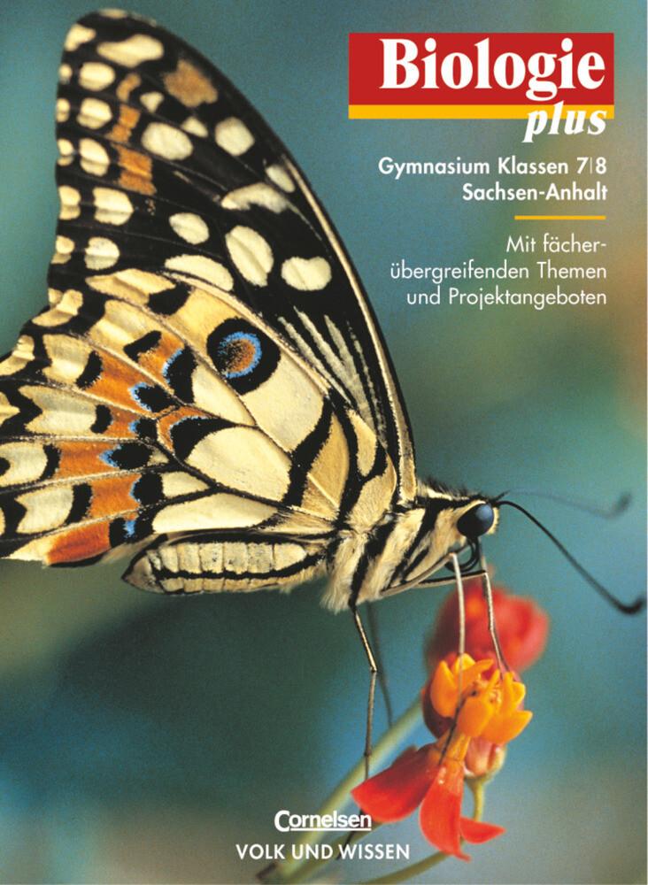 Biologie plus 7/8. Lehrbuch. Gymnasium. Sachsen-Anhalt als Buch (gebunden)