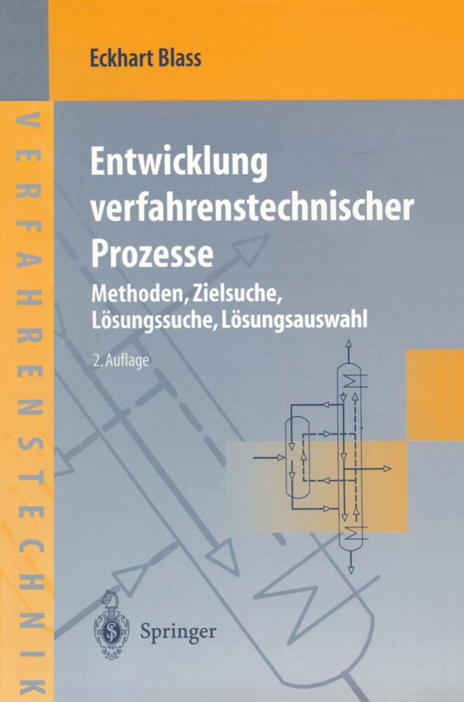 Entwicklung verfahrenstechnischer Prozesse als Buch (kartoniert)