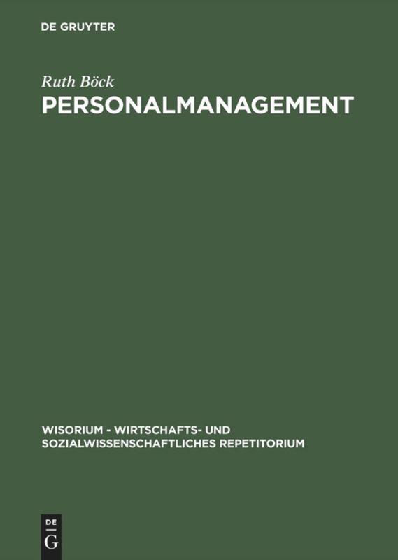 Personalmanagement als Buch (kartoniert)