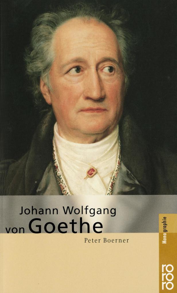 Johann Wolfgang von Goethe als Taschenbuch
