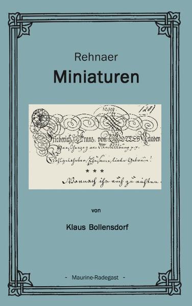 Rehnaer Miniaturen als Buch (kartoniert)