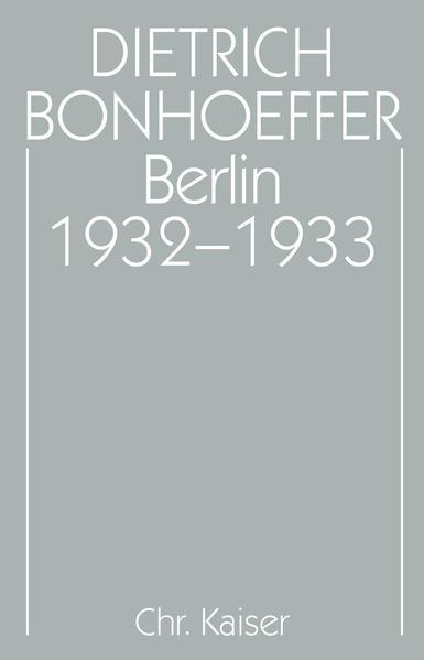 Berlin 1932-1933 als Buch (gebunden)