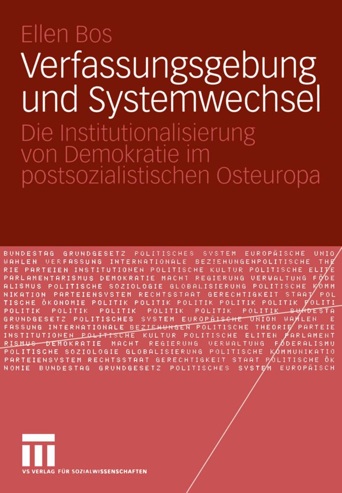 Verfassungsgebung und Systemwechsel als Buch