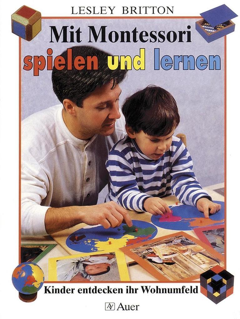 Mit Montessori spielen und lernen als Buch (kartoniert)