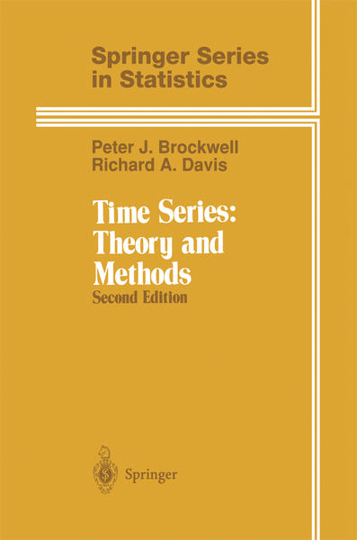 Time Series: Theory and Methods als Buch