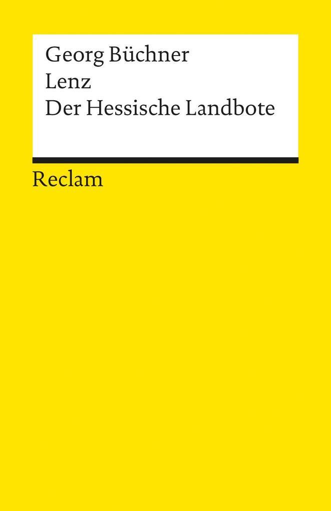 Lenz / Der hessische Landbote als Taschenbuch