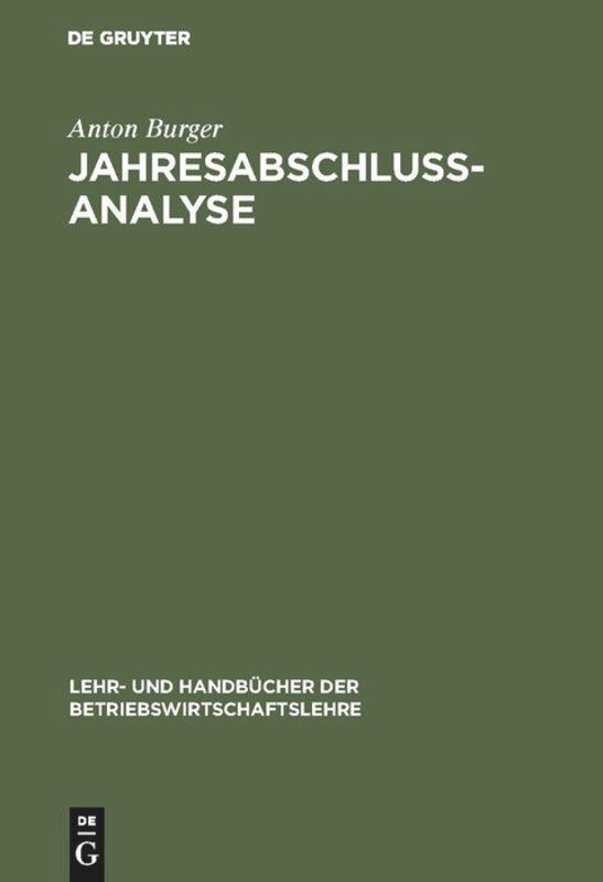 Jahresabschlussanalyse als Buch (gebunden)