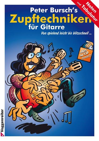 Peter Bursch's Zupftechniken für Gitarre als Buch (kartoniert)
