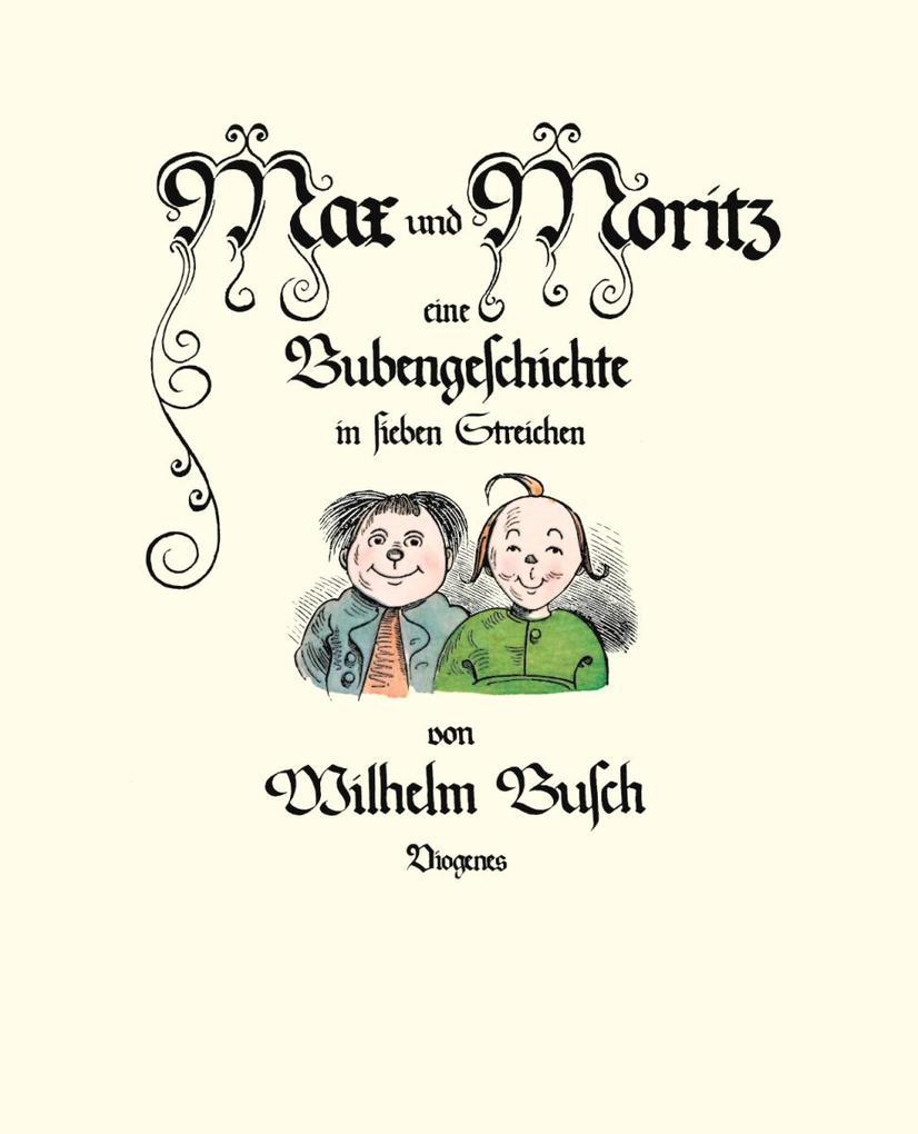 Max und Moritz als Buch (gebunden)
