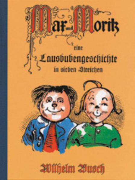 Max und Moritz als Buch (kartoniert)