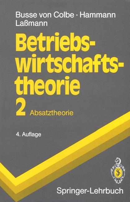 Betriebswirtschaftstheorie als Buch (gebunden)