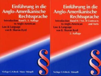 Einführung in die Anglo-Amerikanische Rechtssprache (Introduction to Anglo-American Law & Language) als Buch (kartoniert)