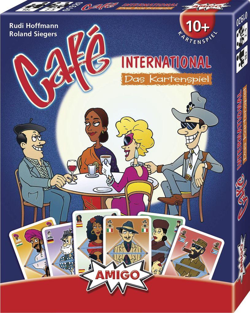 Cafe International - Das Kartenspiel als Spielware