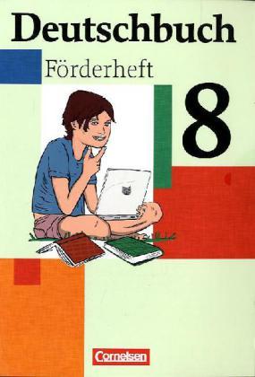 Deutschbuch 8. Schuljahr. Förderheft als Buch (geheftet)