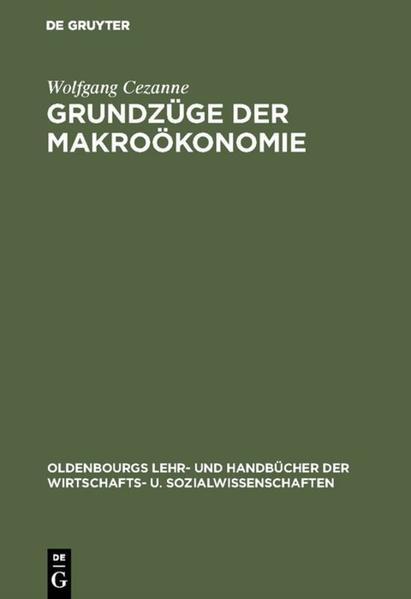 Grundzüge der Makroökonomie als Buch (gebunden)