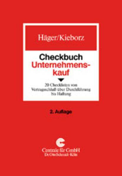 Checkbuch Unternehmenskauf als Buch (kartoniert)