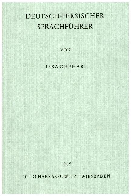 Deutsch - Persischer Sprachführer als Buch (kartoniert)