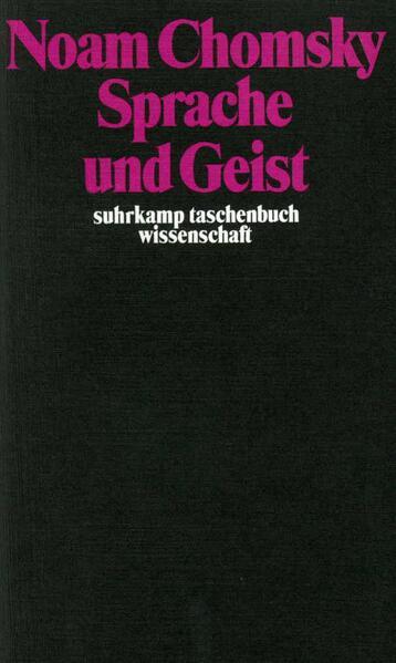 Sprache und Geist als Taschenbuch
