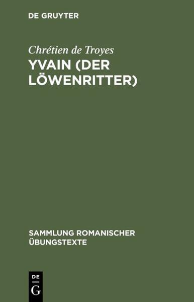 Yvain (Der Löwenritter) als Buch (kartoniert)