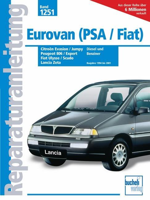 Eurovan (PSA/Fiat) - Peugeot 806 & Expert / Citroën Evasion & Jumpy als Buch (kartoniert)