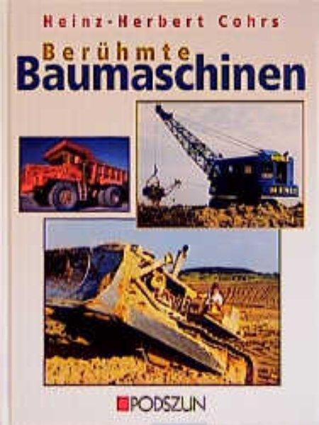 Berühmte Baumaschinen als Buch (gebunden)