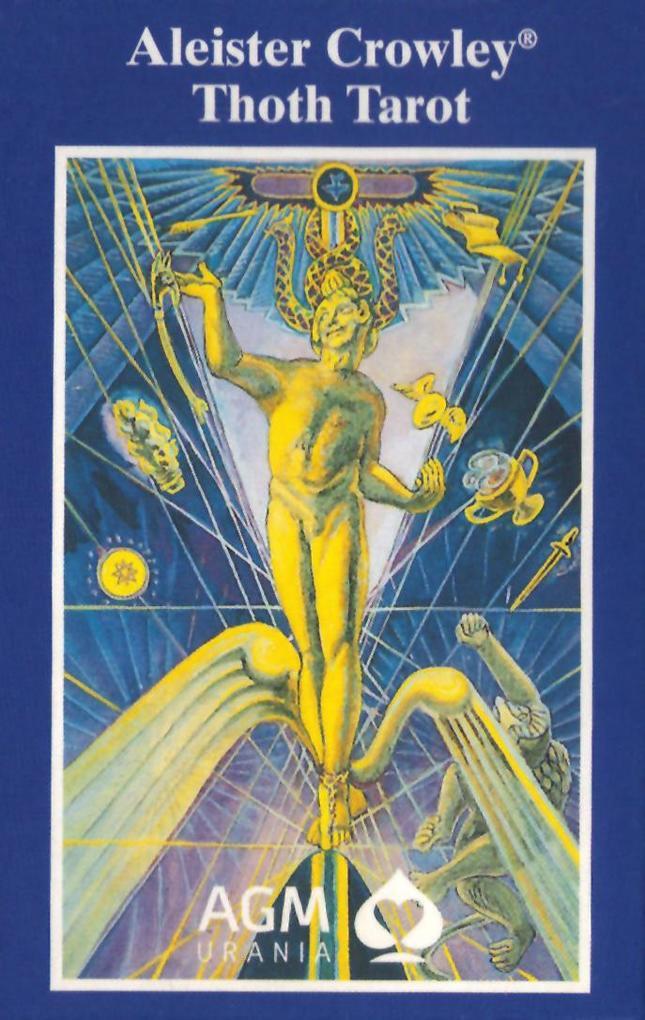 Original Aleister Thoth Tarot. 78 Karten als Blätter und Karten