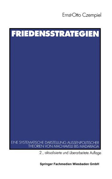 Friedensstrategien als Buch (kartoniert)