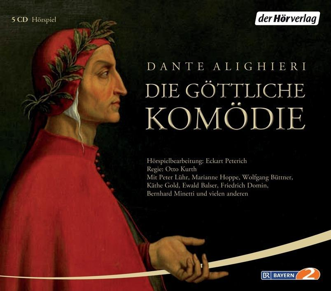 Die göttliche Komödie. 5 CDs als Hörbuch CD