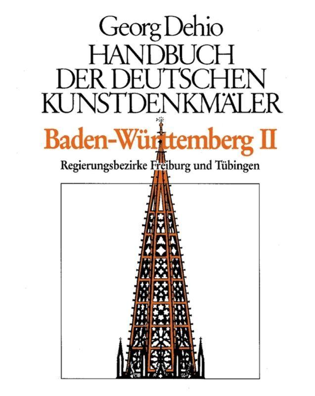 Baden-Württemberg 2. Handbuch der deutschen Kunstdenkmäler als Buch (gebunden)