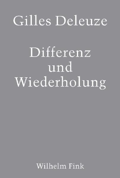 Differenz und Wiederholung als Buch (kartoniert)