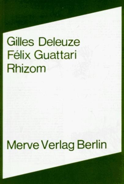Rhizom als Buch (kartoniert)