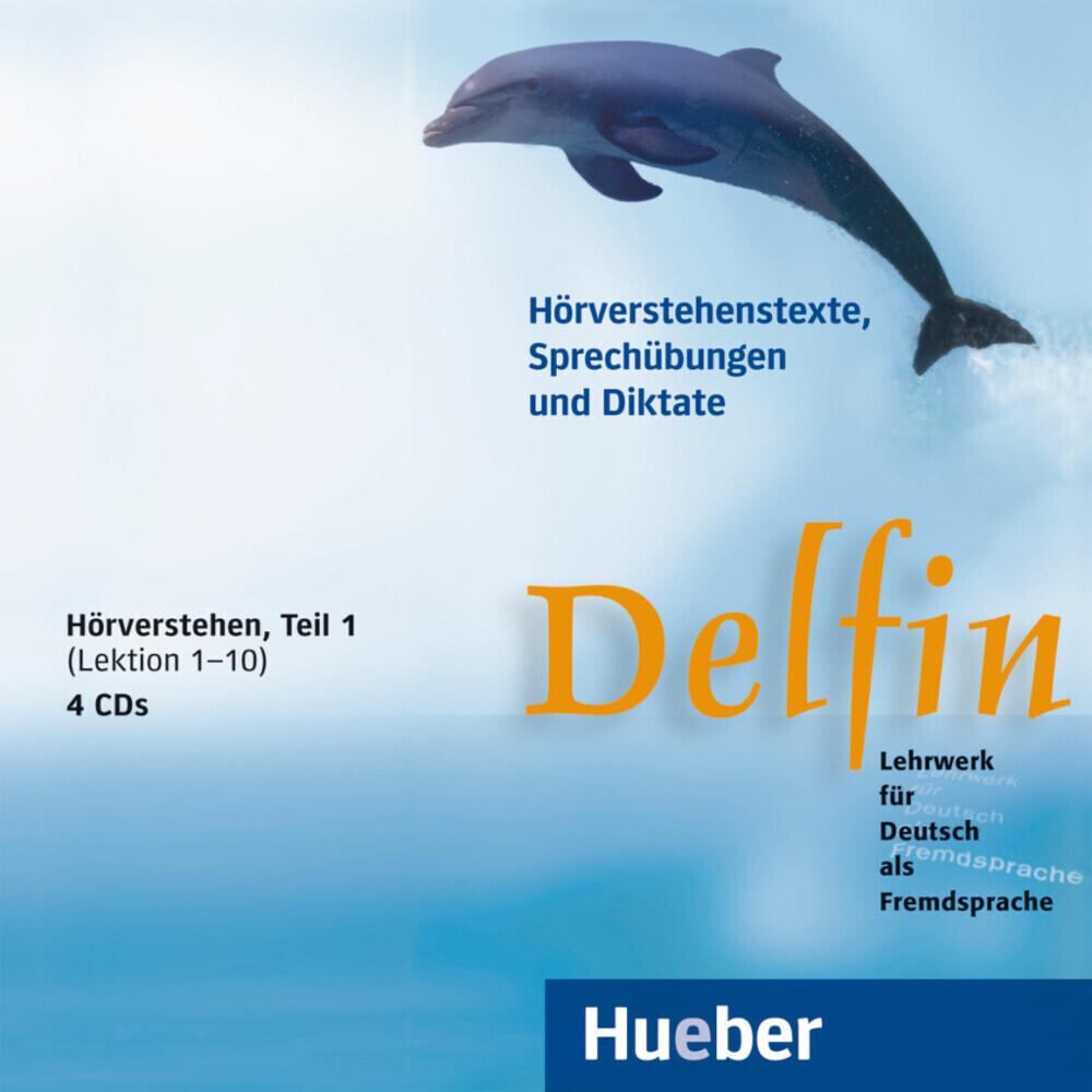 Delfin. Hörverstehen 1. 4 CDs als CD