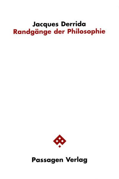 Randgänge der Philosophie als Buch (gebunden)